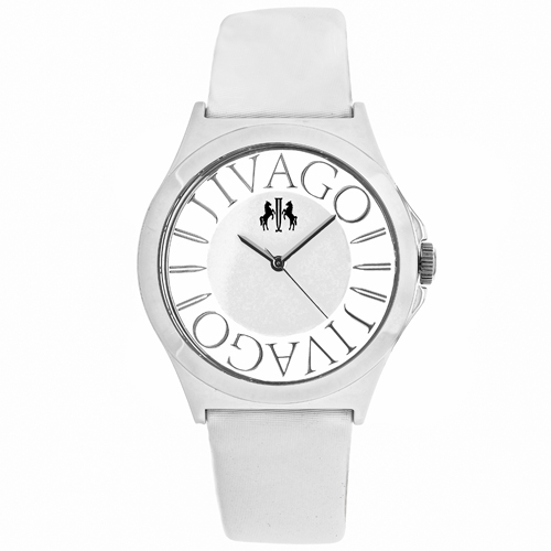 JV8433 Jivago Womens Fun White Band White Dial