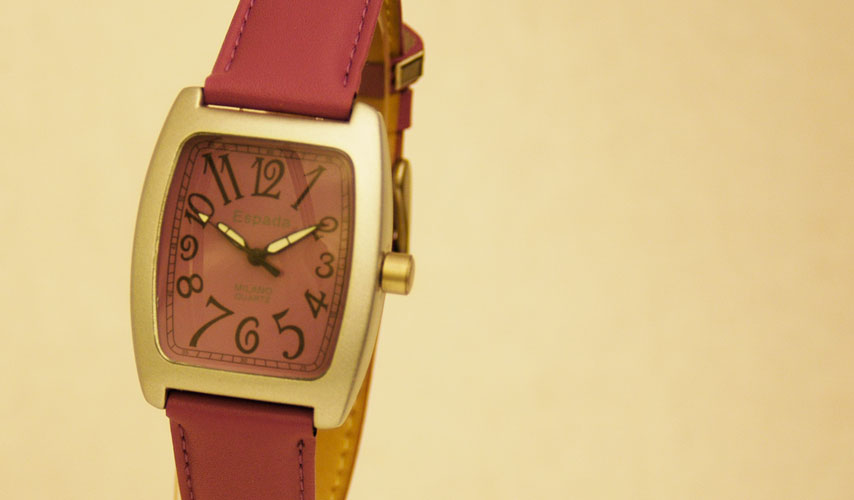 Espada Milano Purple Quartz Watch