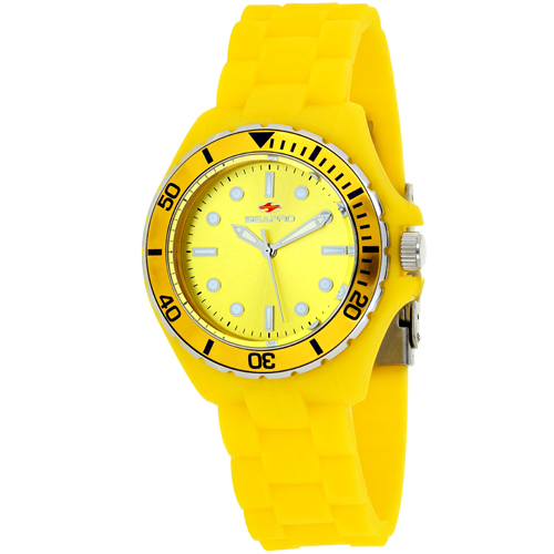 SP3210 Seapro Womens Spring Yellow Band Yellow Dial