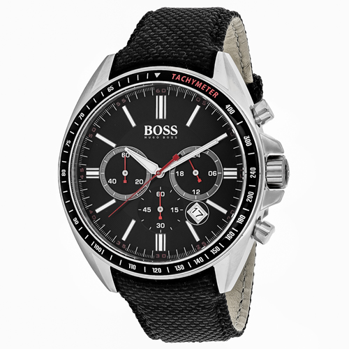 1513087 Hugo boss Mens Classic Quartz Black Band Black Dial