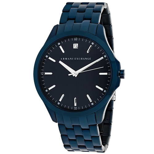 AX2184 Armani Exchange Mens Classic AX2184 Quartz Blue Band Blue Dial