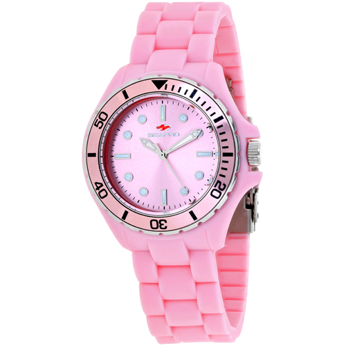 SP3213 Seapro Womens Spring Pink Band Pink Dial