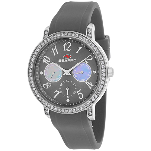 SP4413 Seapro Womens Swell Grey Band Grey Dial