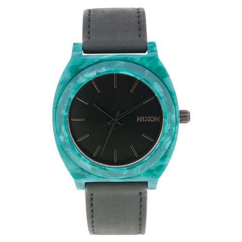 A328-054 Nixon Womens Time Teller Black Band Black Dial
