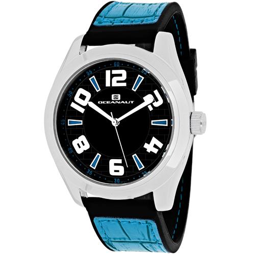 OC7510 Oceanaut Mens Vault Blue Band Black Dial