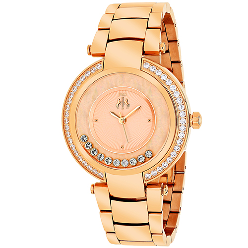 JV1616 Jivago Womens Celebrate Swiss  Quartz  Rose gold Band Rose gold Dial