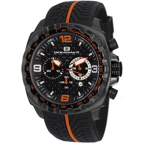 OC1126 Oceanaut Mens Racer Black Band Black Dial