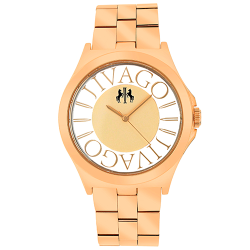 JV8411 Jivago Womens Fun Rose gold Band Rose gold Dial