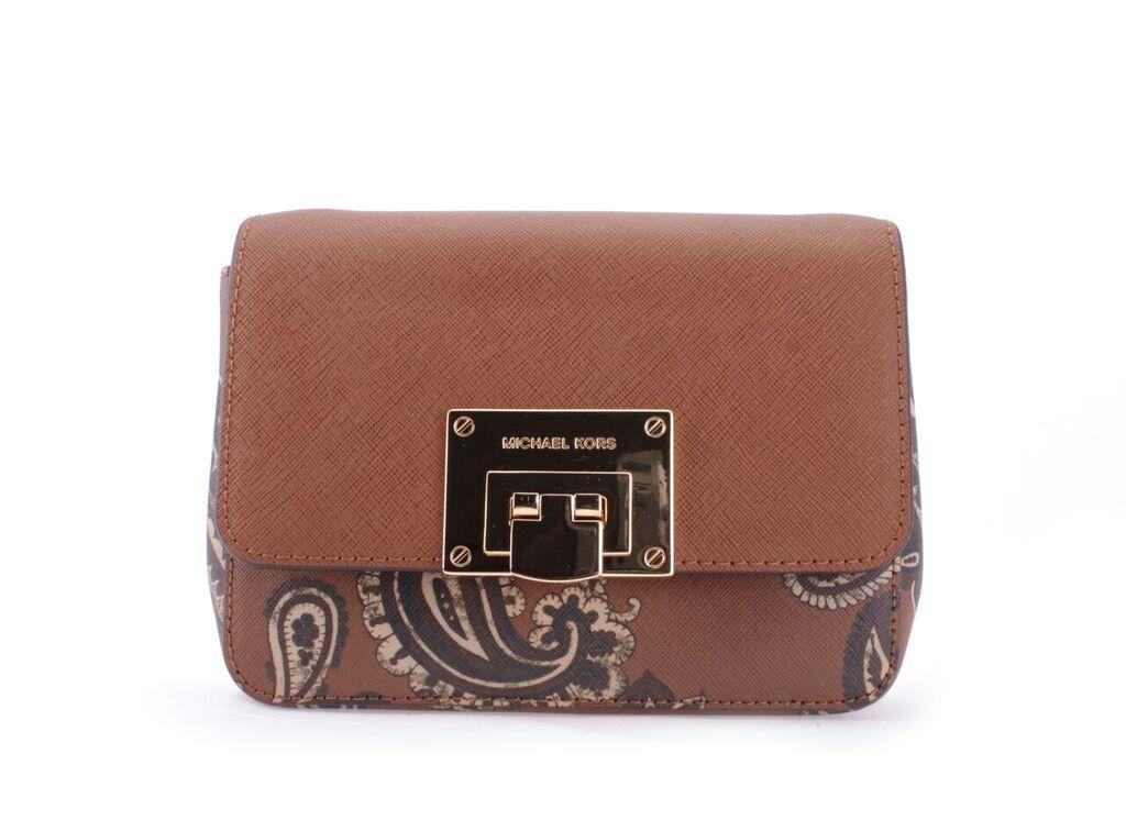 35F7GT4C1TLUGGAGE Michael Kors 35F7GT4C1T-LUGGAGE Handbags TINA MSRP ... 05b1437bcc7de